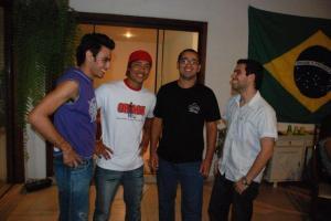 Marcelo & Eduardo (center)